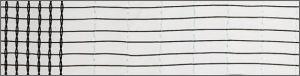 Hagelnet Typ Wiesel grijs 2,8m 2,8m