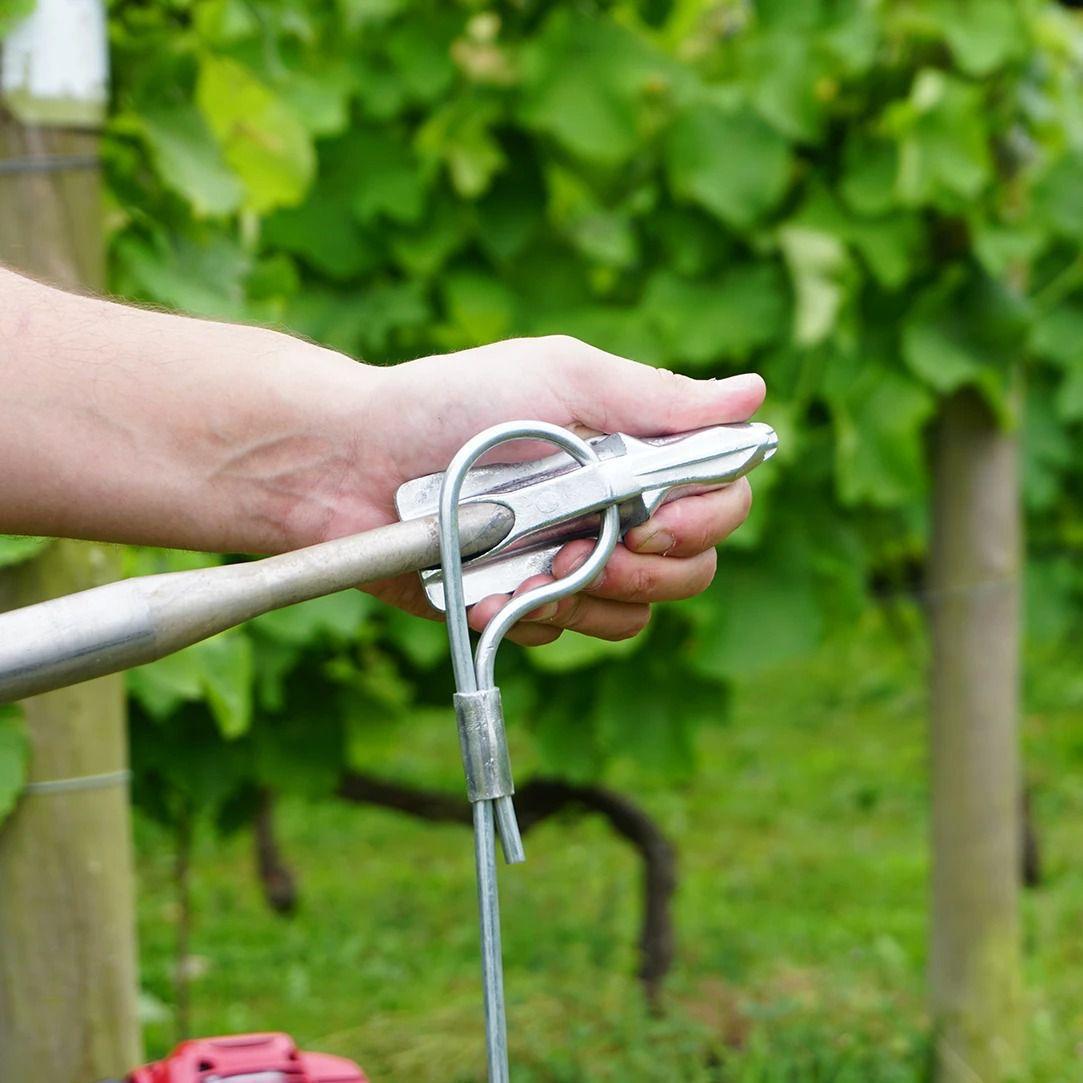 apex anchor 3 3mm 09m steel galvanise rigid tendon
