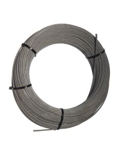 Galvanized steelcable 5mm 7x7