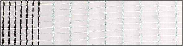 hailnet type wiesel crystal border 15m
