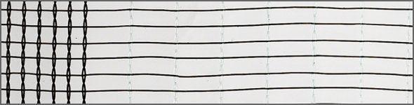 hailnet type wiesel grey 40m