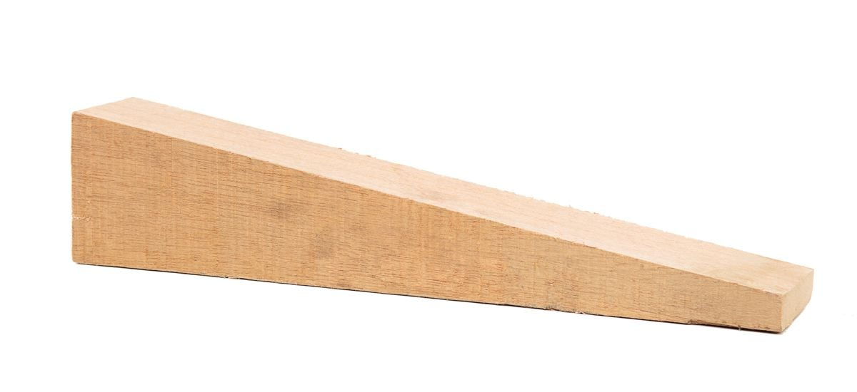 hard wooden wedge