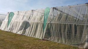 Insectnet 40 mesh white 1,1m (W)