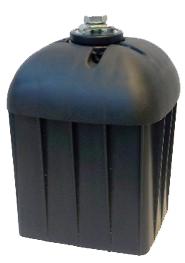 postcap qubo 9x9 incl screws