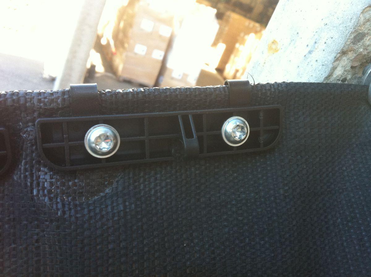 wiesel filmroof clip incl 2 screws