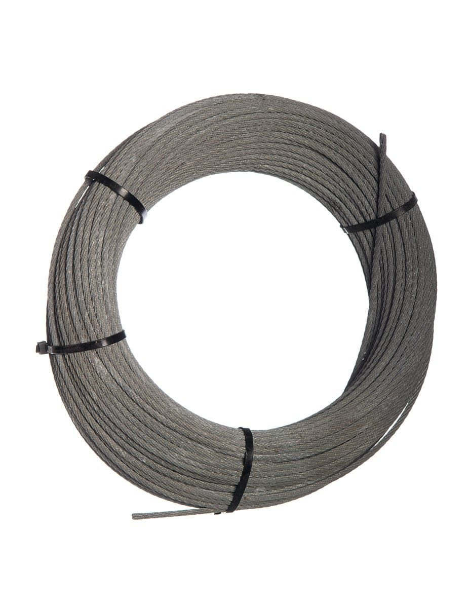 wire rope 6mm 7x7with sc galv class a zinc coat 115gm 0138kgm