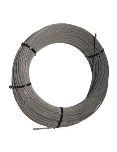 Wire rope 6mm 7x7(with SC) galv. (class A zinc coat 115g/m²) 0,138kg/m