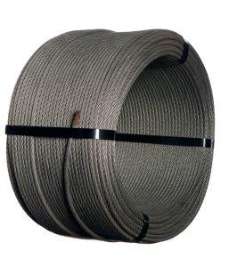 Wire rope 8mm 7x7 300m (Class A zinc coat 145g/m²)