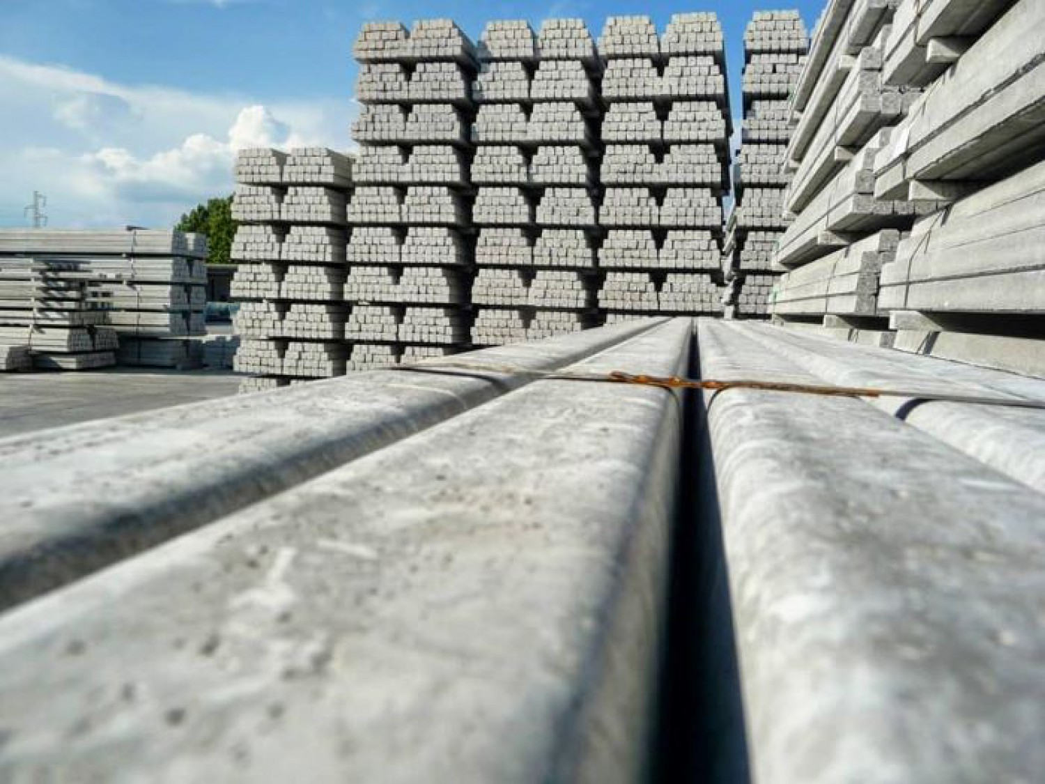 Order concrete poles on time!